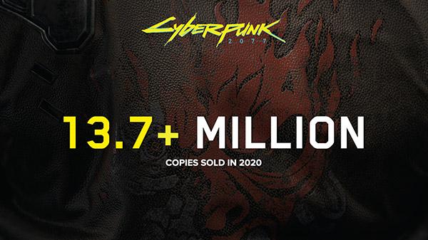 Cyberpunk 2077 sold