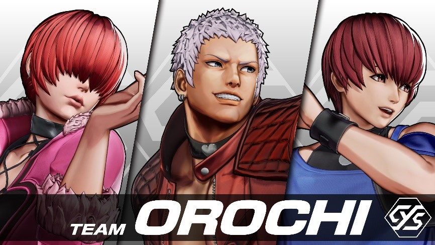 King of Fighters XV Team Orochi