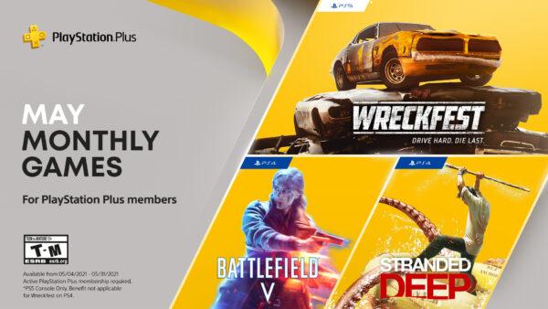 PlayStation Plus May 2021