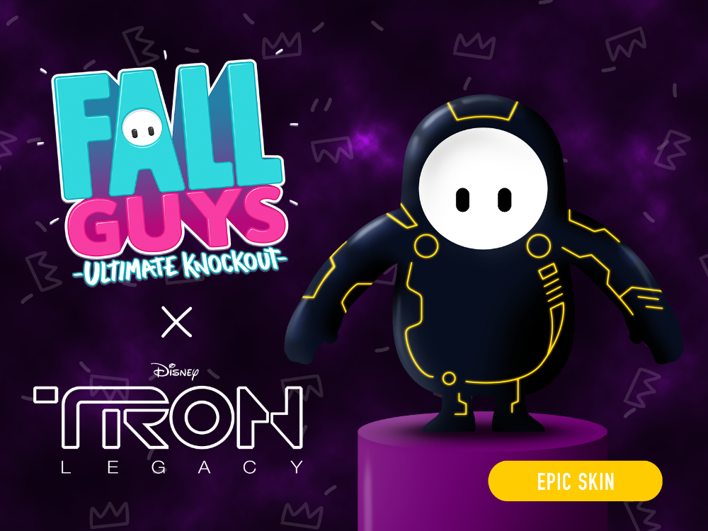 Fall Guys: Ultimate Knockout X TRON