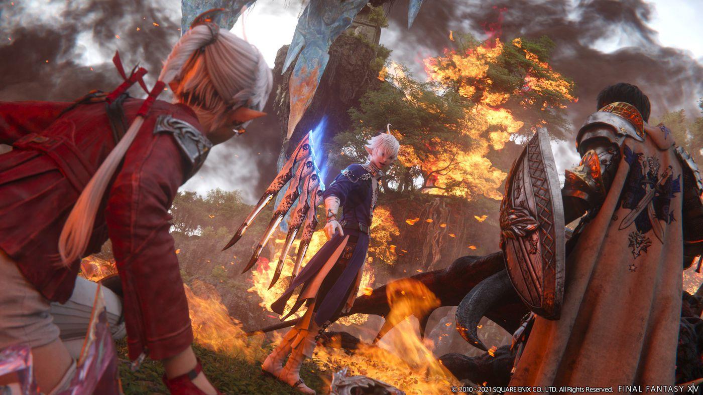 Final Fantasy XIV coming to PS5