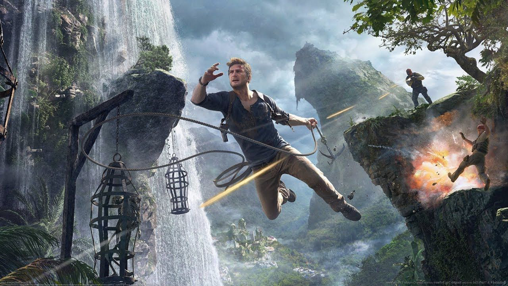 Uncharted 4: A Thief's End 1