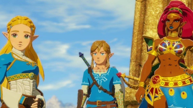 Hyrule Warriors Age of Calamity version 1.1.0