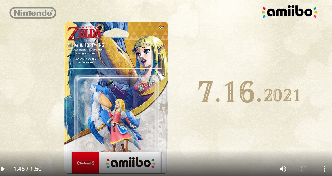 New Zelda & Loftwing amiibo announced - featured