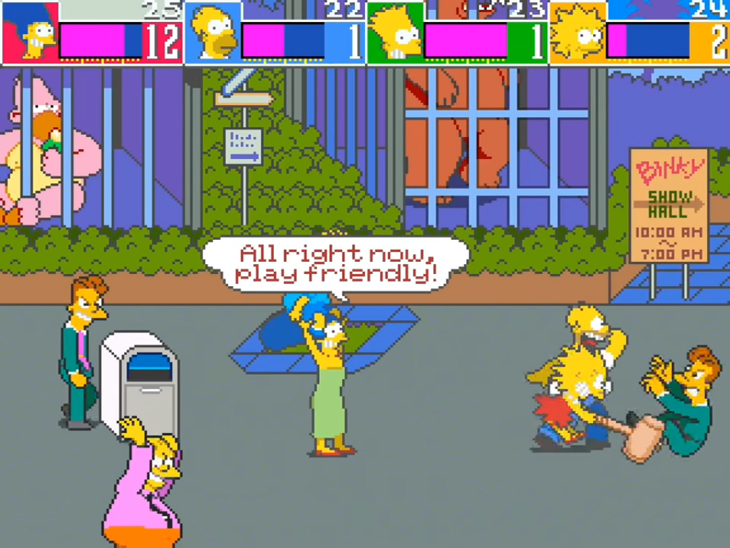 Arcade1Up The Simpsons