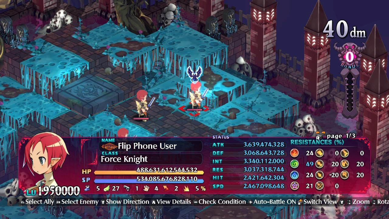 Disgaea 6: Defiance of Destiny - Power Level Guide