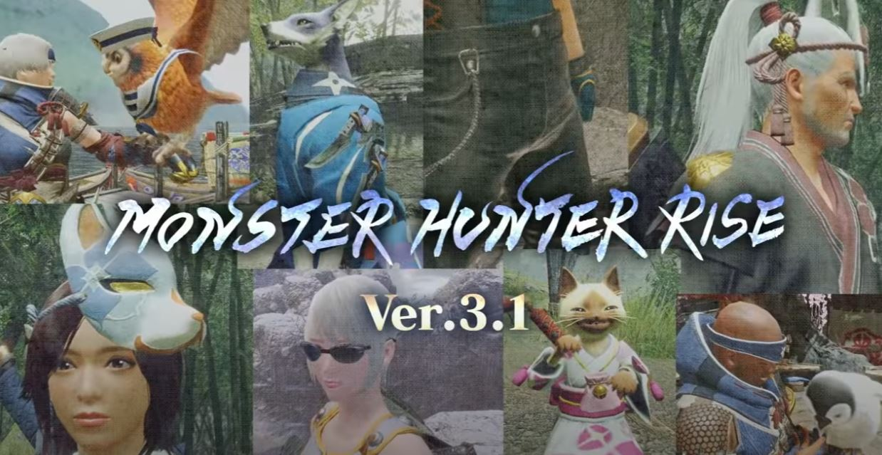 Monster Hunter Rise version 3.1 launches June 24