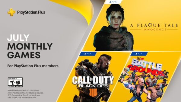 PlayStation Plus July 2021 Free Games Announced