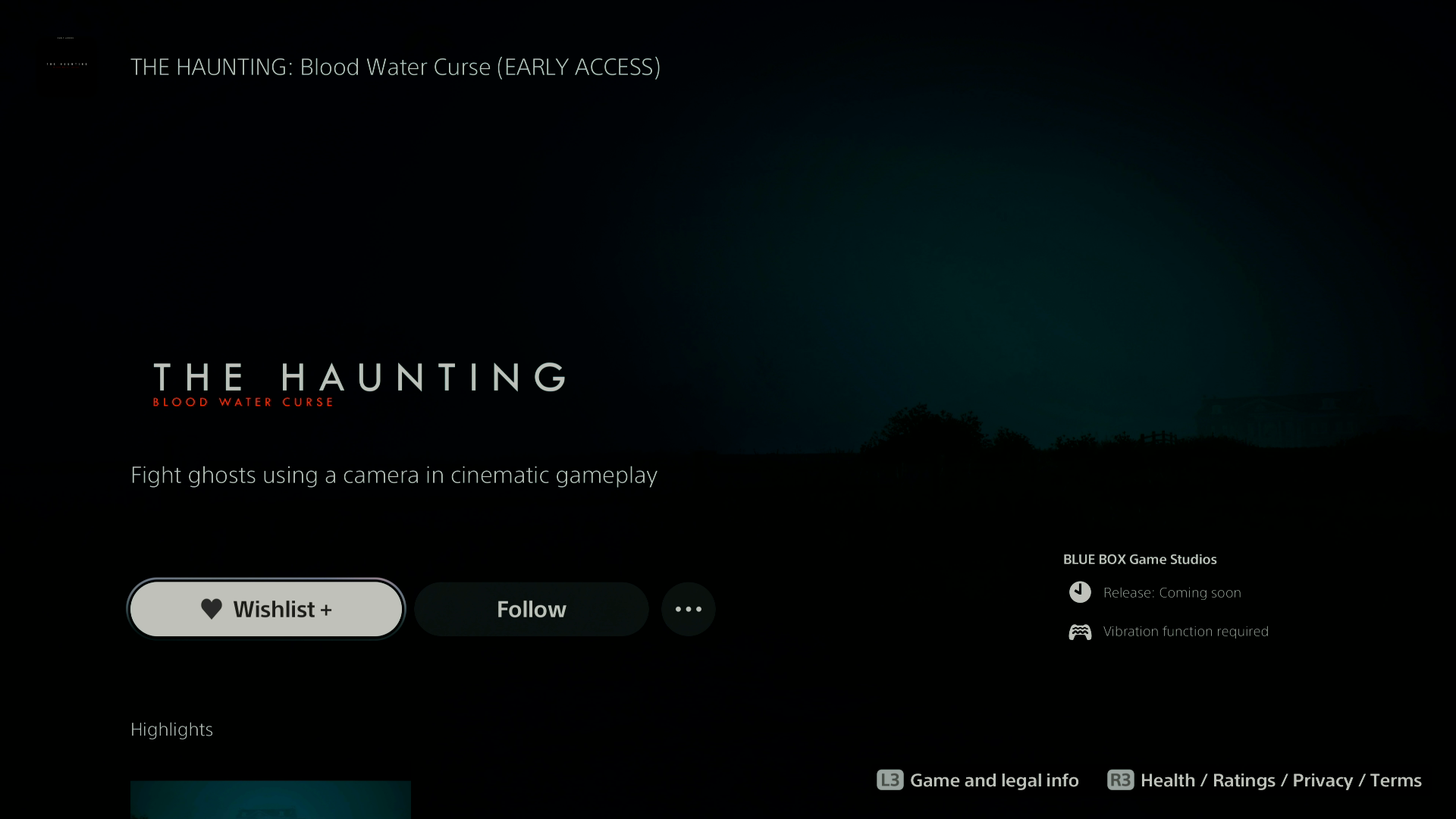 THe Haunting: Blood Water Curse 14