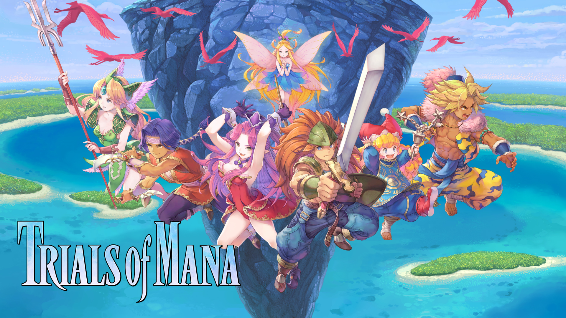 Trials of Mana coming to both Android and iOS on July