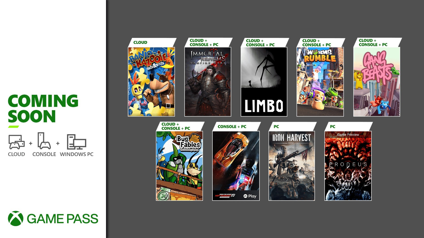 Xbox Game Pass gets Need for Speed Hot Pursuit, Limbo, and more