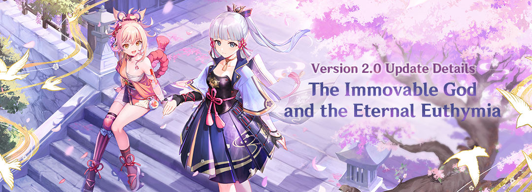 Genshin Impact version 2.0 is now available