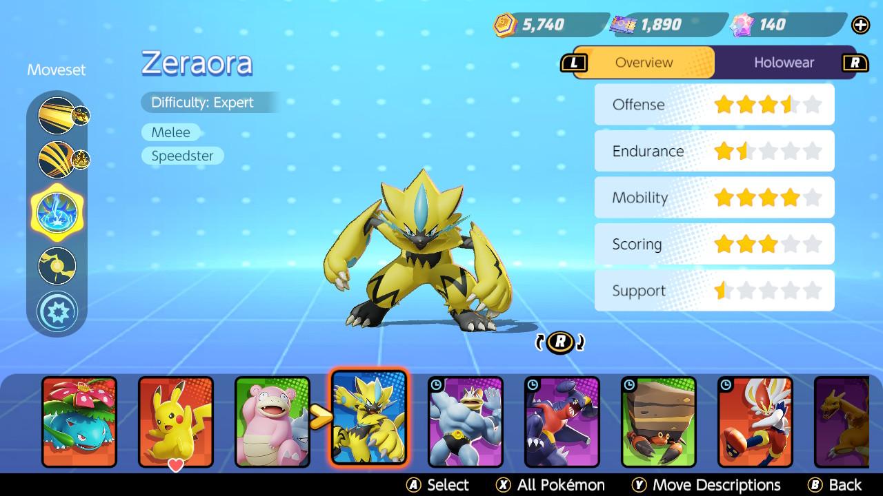 How to get Zeraora in Pokemon Unite - Featured