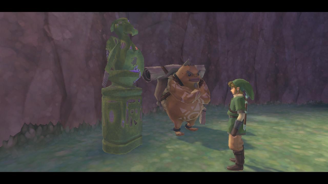 How to use the Zelda & Loftwing Amiibo in Skyward Sword HD - featured