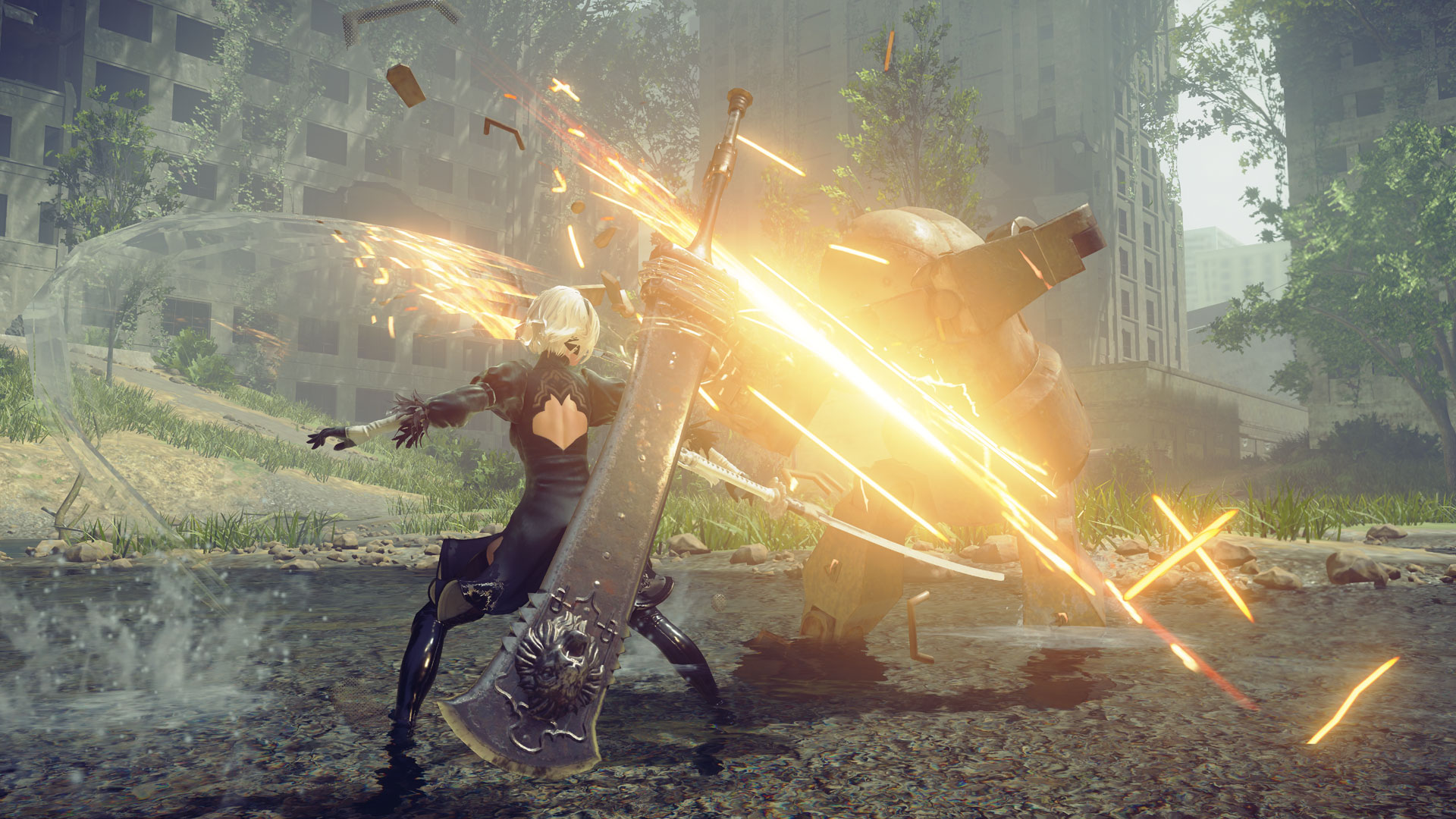 NieR Automata upgrade patch for Steam coming on July 15