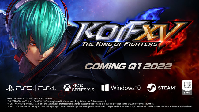 The King of Fighters XV coming to PS5, PS4, Xbox Series, and PC