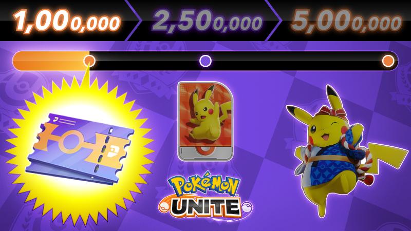 Pokemon Unite mobile pre-registration hits 1,000,000