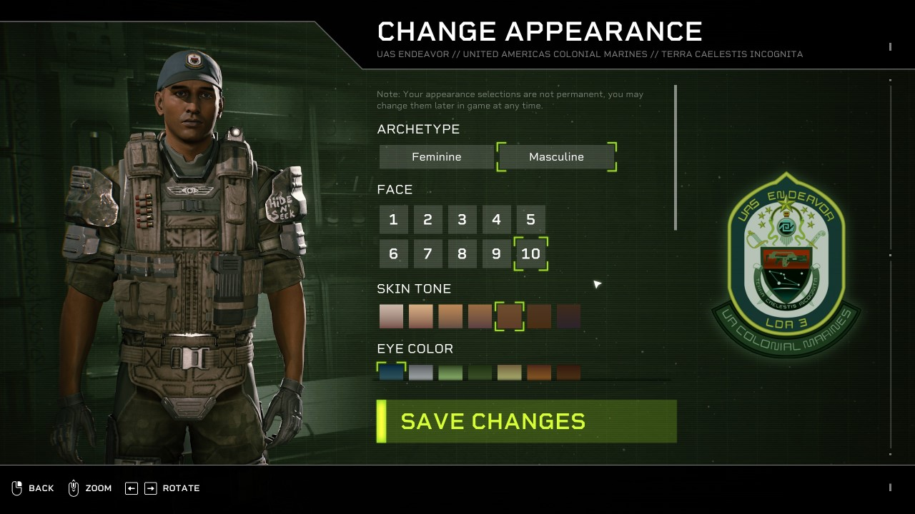 How to Change Appearance in Aliens: Fireteam Elite