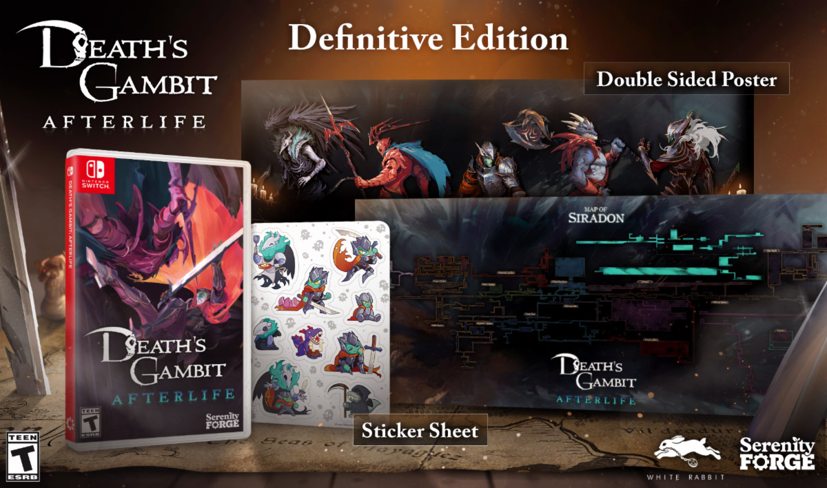 Death's Gambit- Afterlife launches September 30 for Switch and PC