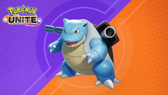 Pokemon Unite gets Blastoise today