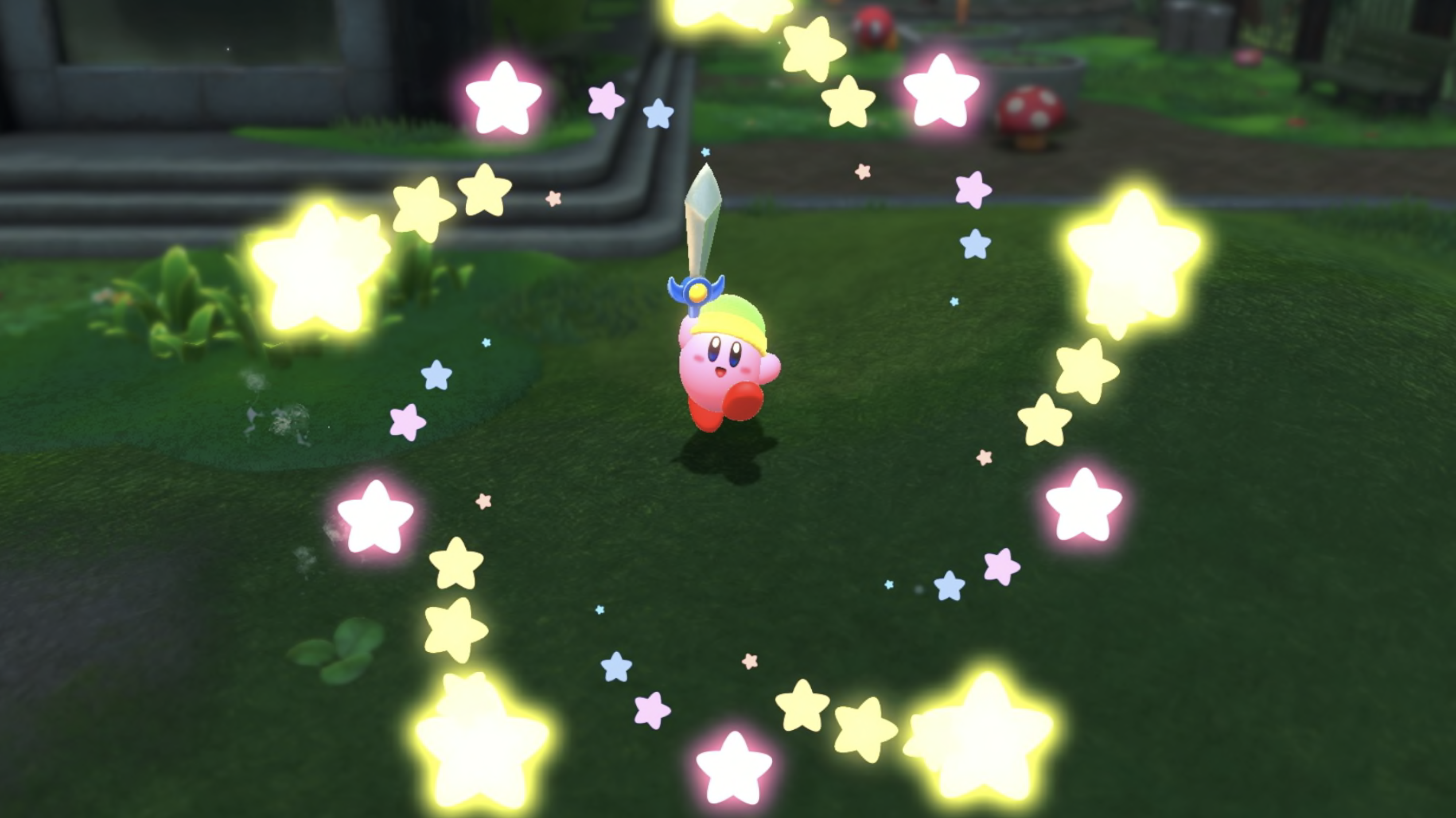 Kirby and the Forgotten Land 1