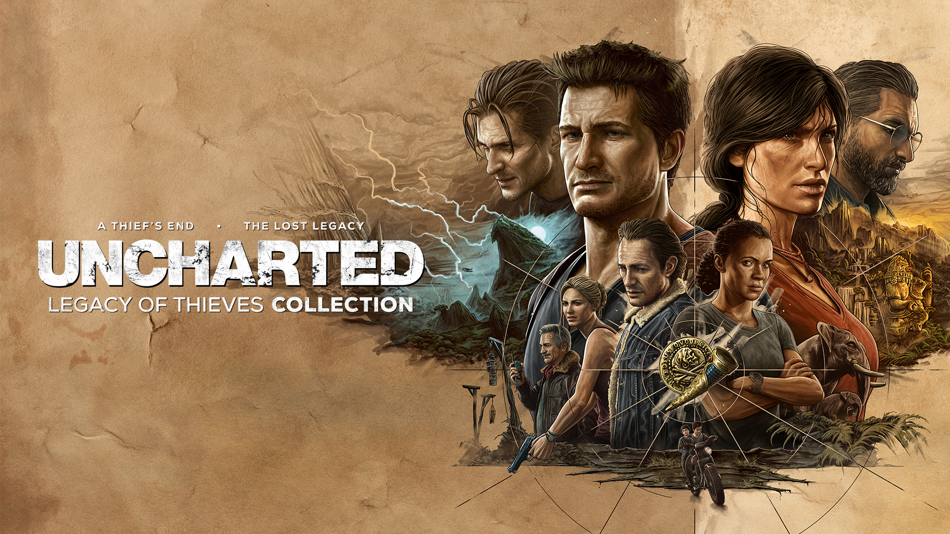 Uncharted: Legacy of Thieves Collection 1
