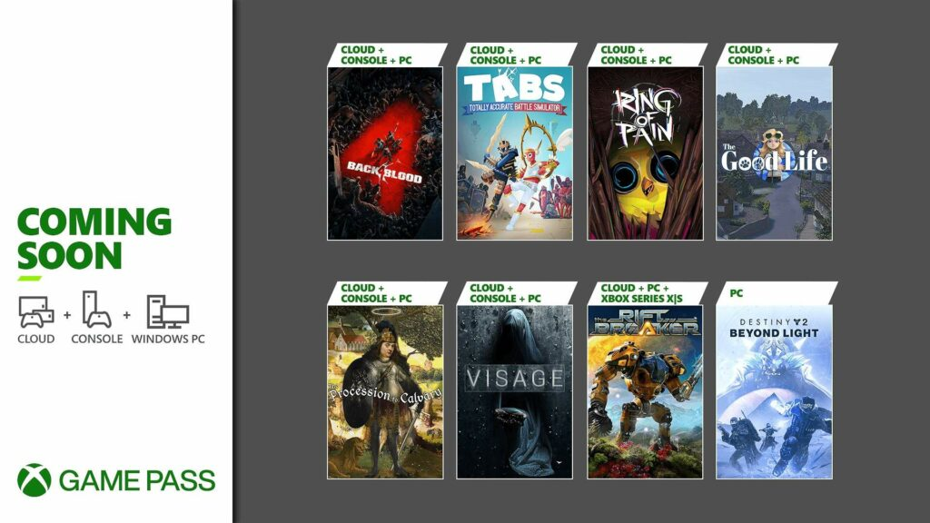 Back 4 Blood coming to Xbox Game Pass on Day One