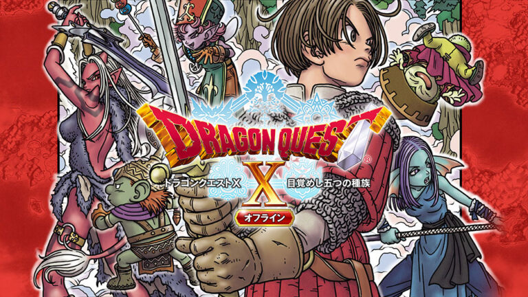 Dragon Quest X Offline launches February 26 in Japan