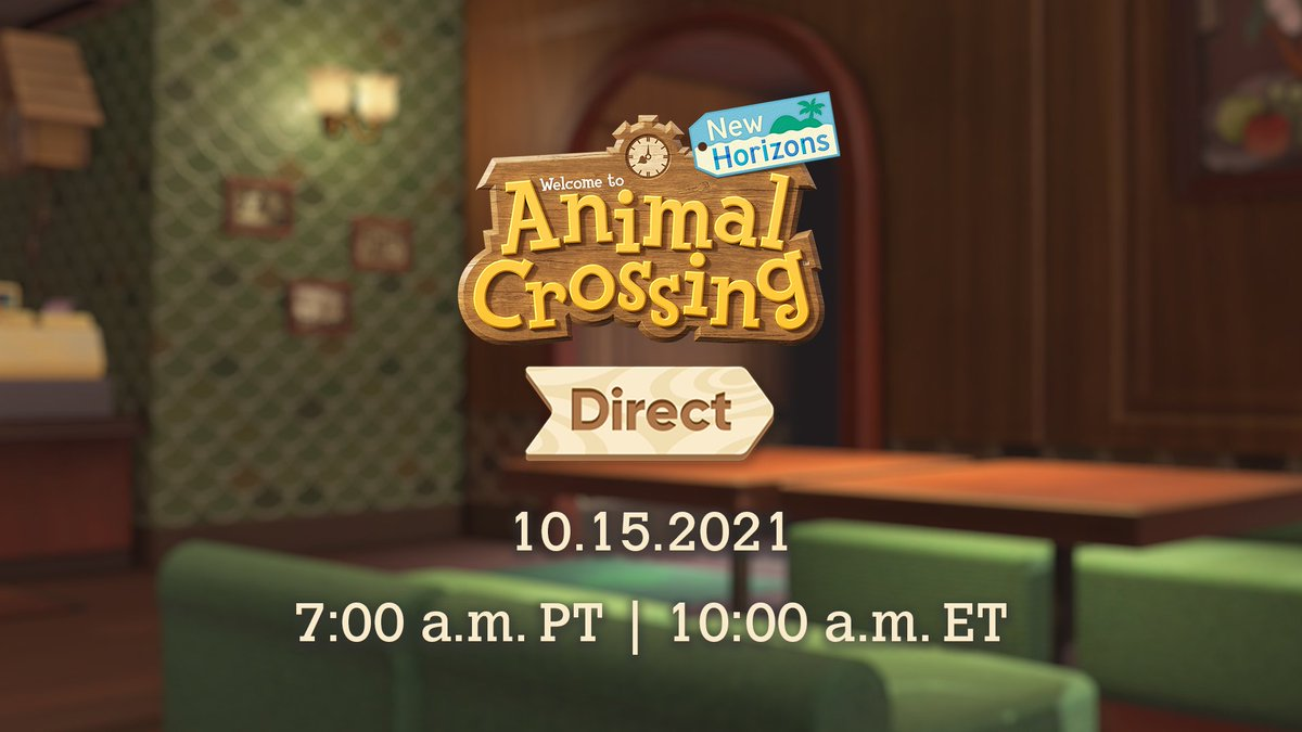Animal Crossing: New Horizons Direct Announced for October 15