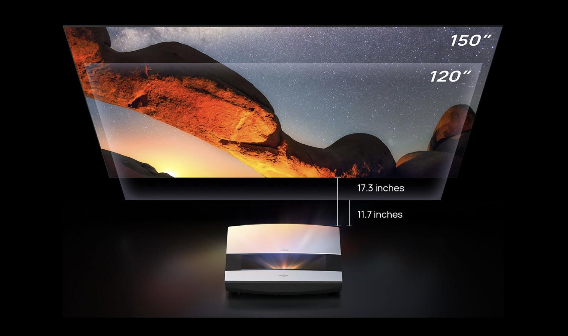 XGIMI Announces Their First Ultra Short-Throw Projector, Aura 2