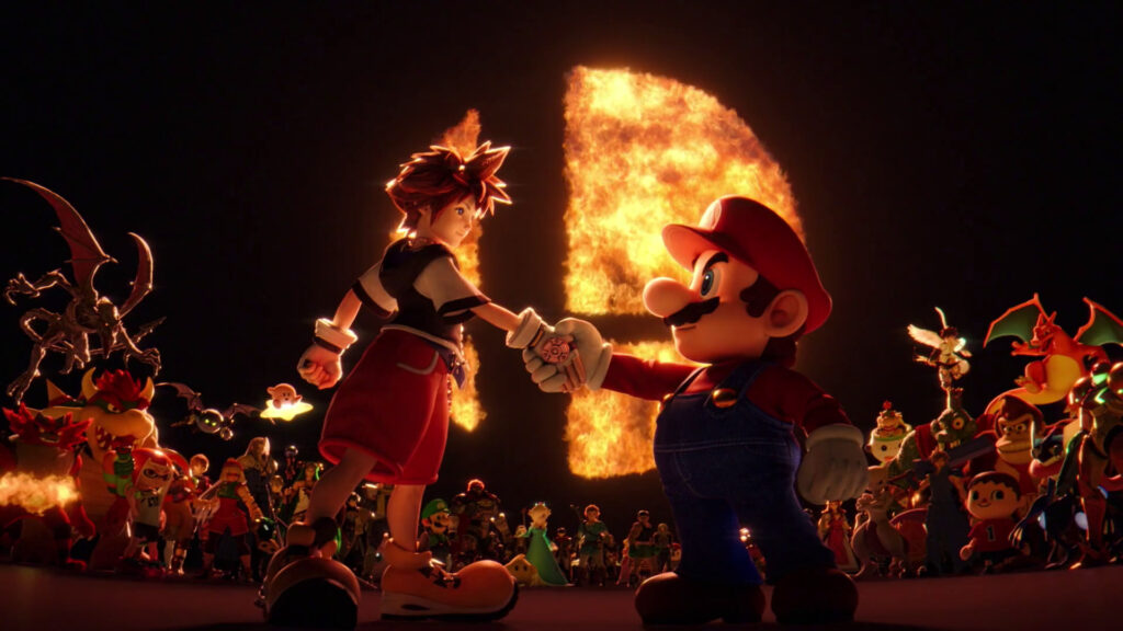 Super Smash Bros. Ultimate Sora DLC announced